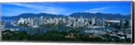 Aerial view of a cityscape, Vancouver, British Columbia, Canada 2011 Fine-Art Print