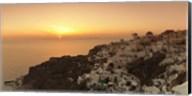Village on a cliff, Oia, Santorini, Cyclades Islands, Greece Fine-Art Print