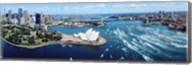 Australia, Sydney, aerial Fine-Art Print