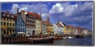Denmark, Copenhagen, Nyhavn Fine-Art Print