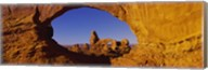 Blue Sky through Stone Arch, Arches National Park, Utah Fine-Art Print