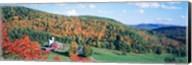 Hillside Acres Farm, Barnet, Vermont, USA Fine-Art Print