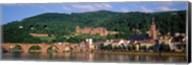 Germany, Heidelberg, Neckar River Fine-Art Print