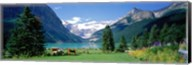 Shore of Lake Louise, Banff National Park, Alberta, Canada Fine-Art Print