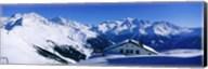 Alpine Scene In Winter, Switzerland Fine-Art Print