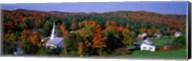 Autumn, Waits River, Vermont, USA Fine-Art Print