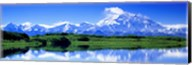Reflection Pond, Mount McKinley, Denali National Park, Alaska, USA Fine-Art Print