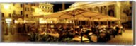Cafe, Pantheon, Rome Italy Fine-Art Print