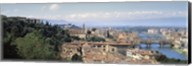 High Angle View of Florence, Tuscany, Italy Fine-Art Print