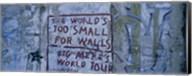 Graffiti on a wall, Berlin Wall, Berlin, Germany Fine-Art Print
