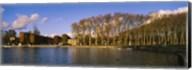 Trees along a lake, Chateau de Versailles, Versailles, Yvelines, France Fine-Art Print