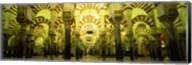Interiors of a cathedral, La Mezquita Cathedral, Cordoba, Cordoba Province, Spain Fine-Art Print