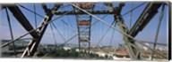 Ferris wheel frame, Prater Park, Vienna, Austria Fine-Art Print