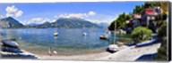 Boats on Lake Como Fine-Art Print