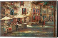 Courtyard Cafe Fine-Art Print