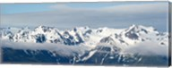 Snow covered mountains, Hurricane Ridge, Olympic National Park, Washington State, USA Fine-Art Print