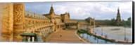Recently restored palace, Plaza De Espana, Seville, Andalusia, Spain Fine-Art Print