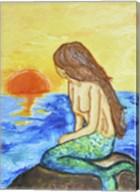 Mermaid at Sunset Fine-Art Print