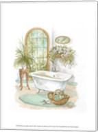 Watercolor Bath in Spa II Fine-Art Print