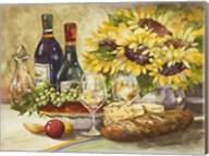 Wine & Sunflowers Fine-Art Print
