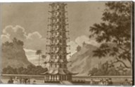 The Porcelain Pagoda Fine-Art Print