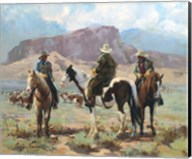 Three Cowboys Fine-Art Print
