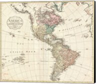 1795 D'Anville Wall Map of South America Fine-Art Print