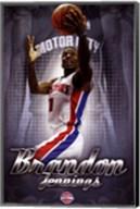 Detroit Pistons - B Jennings 13 Wall Poster