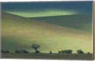 Panoramic view of hill, Ngorongoro Crater, Arusha Region, Tanzania Fine-Art Print