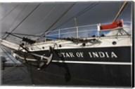 Maritime museum on a ship, Star of India, San Diego, California, USA Fine-Art Print