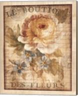 Parisian Flowers I Fine-Art Print