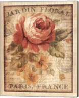 Parisian Flowers II Fine-Art Print