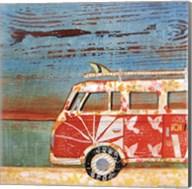 Santa Cruise Fine-Art Print