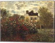 The Artist's Garden in Argenteuil Fine-Art Print