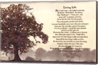 Living Life Sepia Tree Fine-Art Print