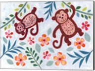 Swinging Monkeys Fine-Art Print