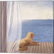 Blue Breeze II Fine-Art Print