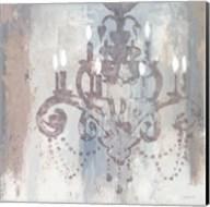 Candelabra Teal II Fine-Art Print