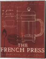 Coffee Blueprint I v Fine-Art Print