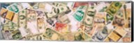 Collection of currencies of various countries Fine-Art Print