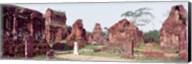 Ruins of temples, Champa, My Son, Vietnam Fine-Art Print
