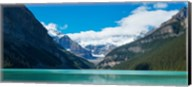 Lake Louise with Canadian Rockies in the background, Banff National Park, Alberta, Canada Fine-Art Print
