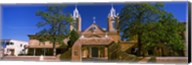 Facade of a church, San Felipe de Neri Church, Old Town, Albuquerque, New Mexico, USA Fine-Art Print