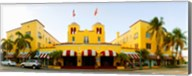Facade of a hotel, Colony Hotel, Delray Beach, Palm Beach County, Florida, USA Fine-Art Print