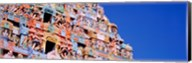 Low angle view of a temple, Tiruchirapalli, Tamil Nadu, India Fine-Art Print