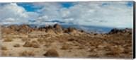 Rock formations in a desert, Alabama Hills, Owens Valley, Lone Pine, California, USA Fine-Art Print