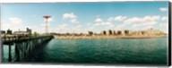 People on the beach, Coney Island, Brooklyn, Manhattan, New York City, New York State, USA Fine-Art Print