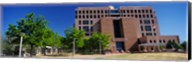 Facade of a government building, Pete V.Domenici United States Courthouse, Albuquerque, New Mexico, USA Fine-Art Print