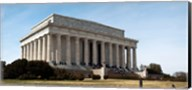 Facade of the Lincoln Memorial, The Mall, Washington DC, USA Fine-Art Print