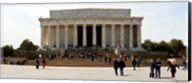 People at Lincoln Memorial, The Mall, Washington DC, USA Fine-Art Print